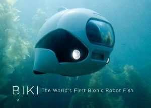 BIKI Bionic Wireless Underwater Camera Drone (video)