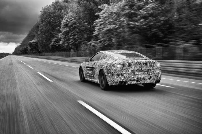 BMW M8 Prototype