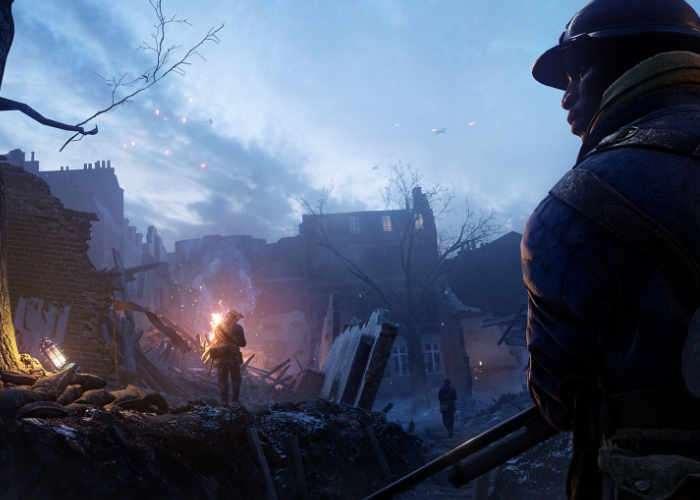 Battlefield 1 Multiplayer Map