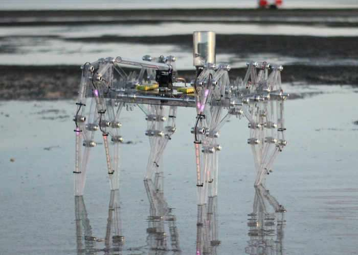 Clearwalker Arduino 8 Legged Robot Created