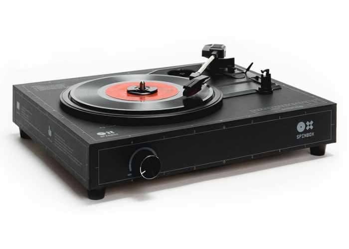DIY Spinbox Turntable