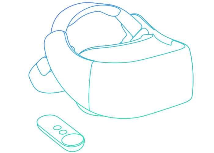 Daydream VR Standalone Headsets