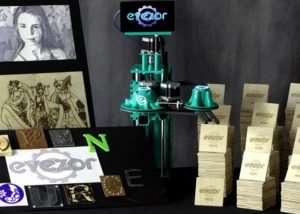Evezor Open Source Robotic Arm And Small Scale Manufacturing Platform (video)