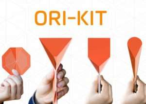 Ori-Kit Space Saving Flat Folding Kitchen Utensils (video)