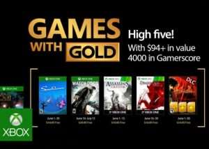 Free Xbox Gold Game For June 2017 Revealed By Major Nelson (video)