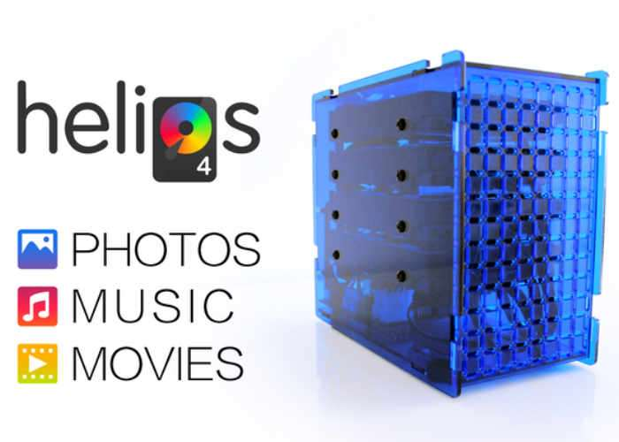 Helios4 Personal Cloud Open Source NAS System