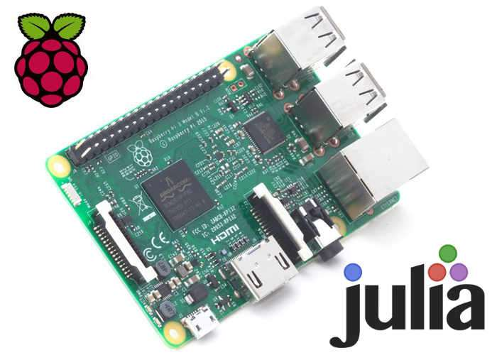 Julia Raspberry Pi Open Source Programming Language