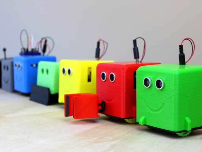 LittleBot Arduino Robot Teaches Robotics