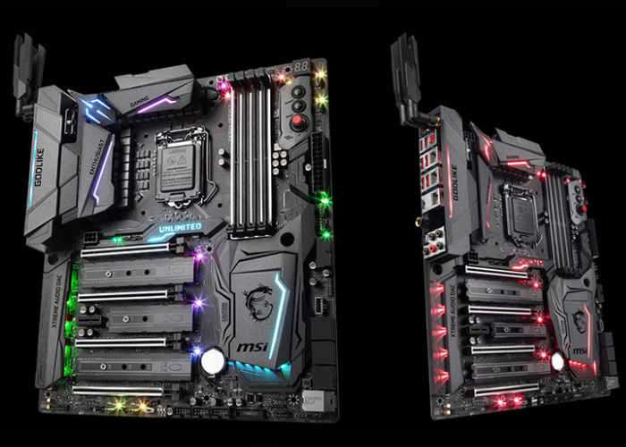 MSI Z270 Godlike Flagship Gaming Motherboard