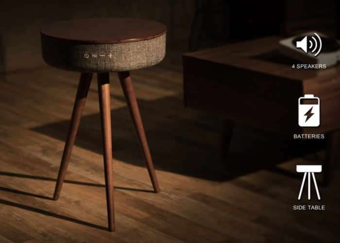 Mellow Multimedia Table And Bluetooth Speaker