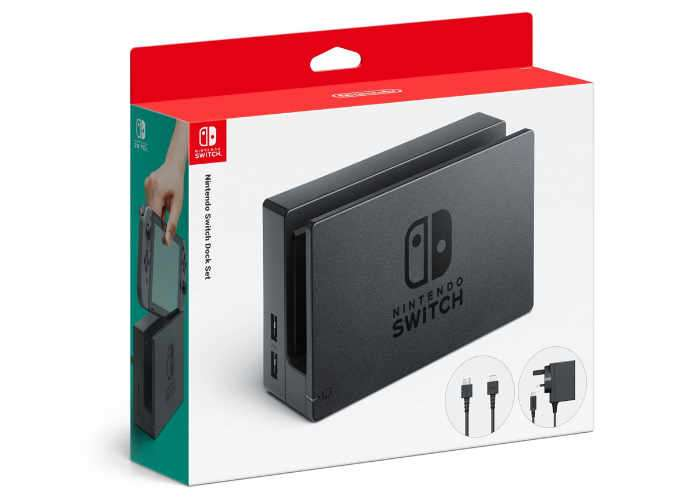 Nintendo Switch Dock Set coming to the United Kingdom next month
