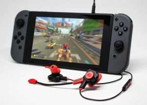 Nomad-1 Nintendo Switch Gaming Earphones (video)