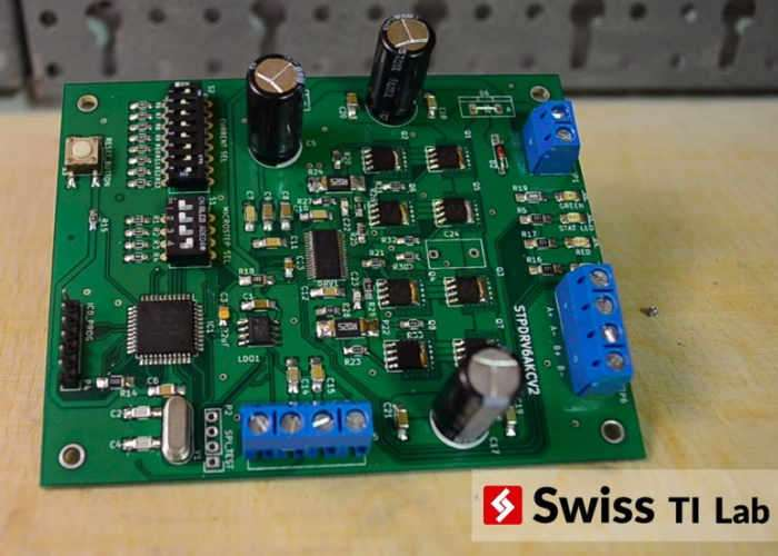 Open Source Stepper Motor Driver Board