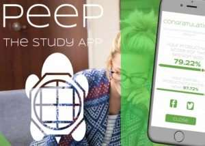 Peep Study App Helps Remove Modern Distractions (video)