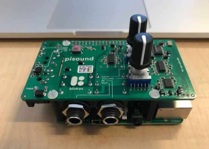 PiSound The Raspberry Pi Sound Card HAT