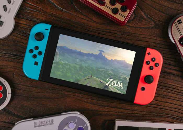 Play Your Nintendo Switch Using 8Bitdo Retro Gamepads