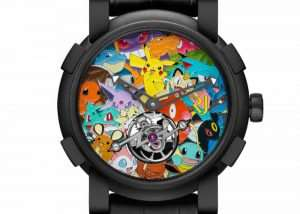 Pokémon Watch Unveiled For $258,000