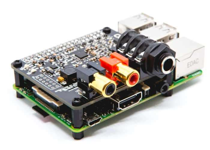 Professional Raspberry Pi Soundcard DACBerry PRO