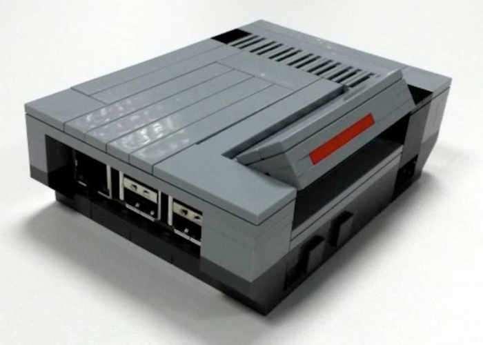 Raspberry Pi LEGO NES Case