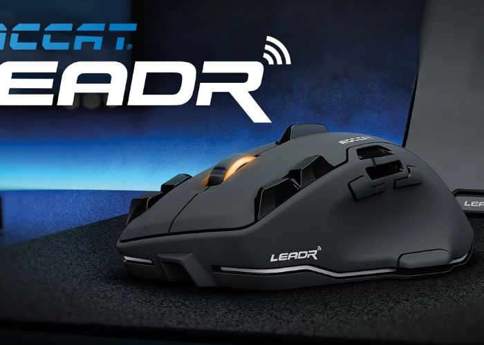 Roccat Leadr Wireless Zero Lag Gaming