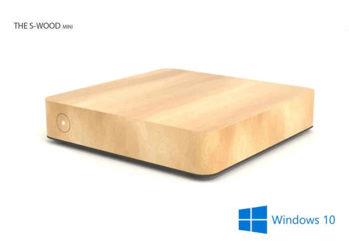 S-WOOD Project Fanless Wooden Mini PCs