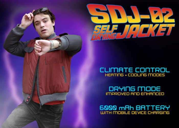 SDJ-02 Self Drying Jacket