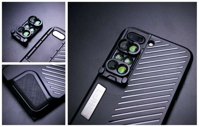 Shiftcam iPhone 7 Plus Camera Lens Case Offers 3 Pairs of Dual Lenses (video)