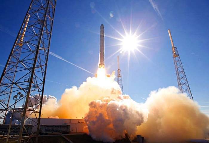 SpaceX Successfully Launches Spy Satellite for U.S. Government