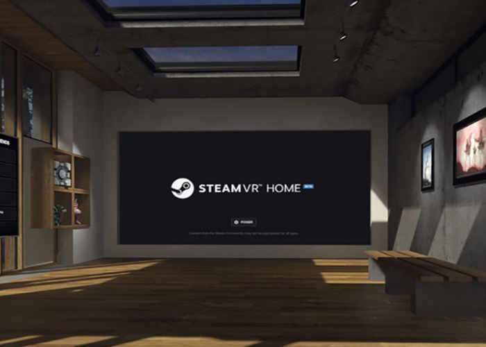 SteamVR Home Beta
