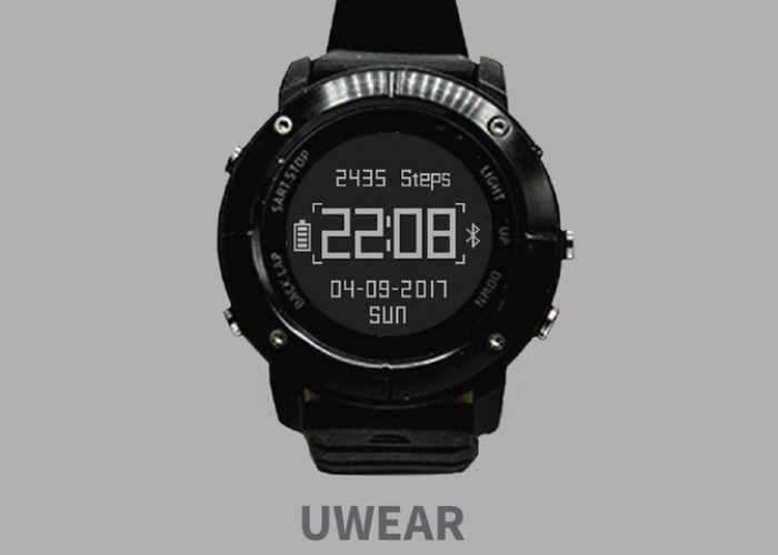 UWear Smartwatch Designed For Hikers Hits Kickstarter ...