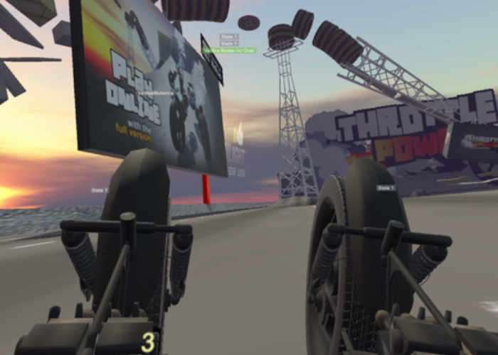 VR Racer Throttle Powah