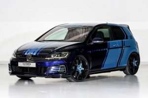 New Volkswagen Golf GTI First Decade Hybrid Concept Unveiled