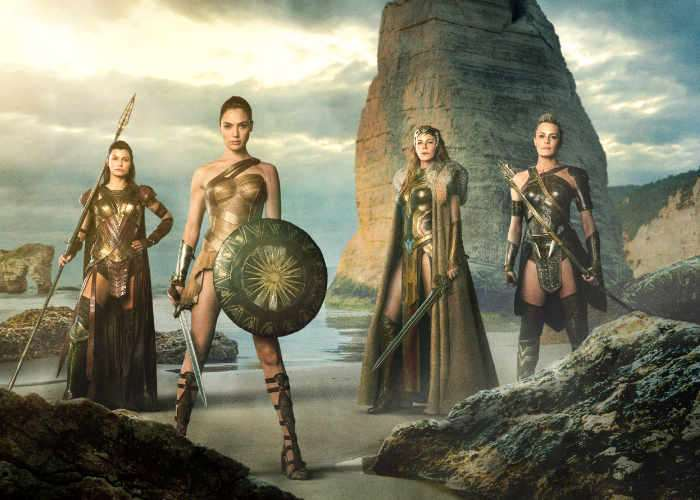 Chris Pine Shows Off First WONDER WOMAN Film Clip