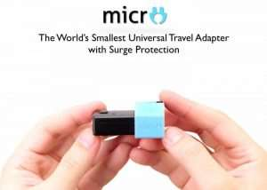 World's Smallest Universal Travel Adapter (video)