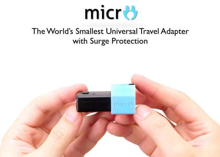 World's Smallest Universal Travel Adapter