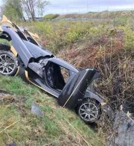 Koenigsegg Test Driver Crashes Agera RS