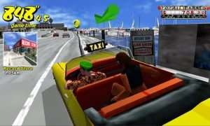 Play the original Crazy Taxi for free on your smartphone