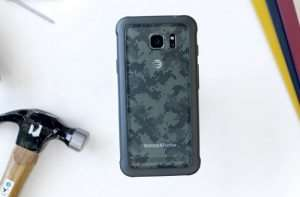 Samsung Galaxy S8 Active Poses For The Camera