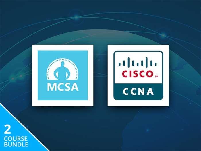 MCSA Windows Server 2012 & Cisco Network Associate Certification