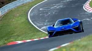NIO EP9 EV Supercar Takes Nurburgring Record