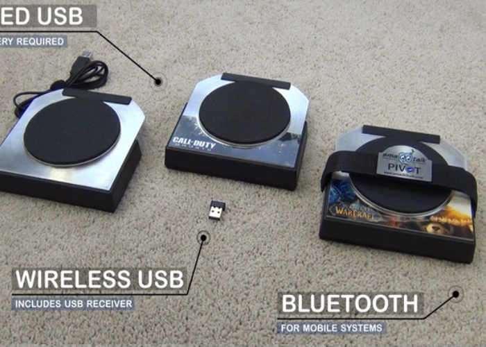 smaQQtalk PIVOT Gaming Foot Controller