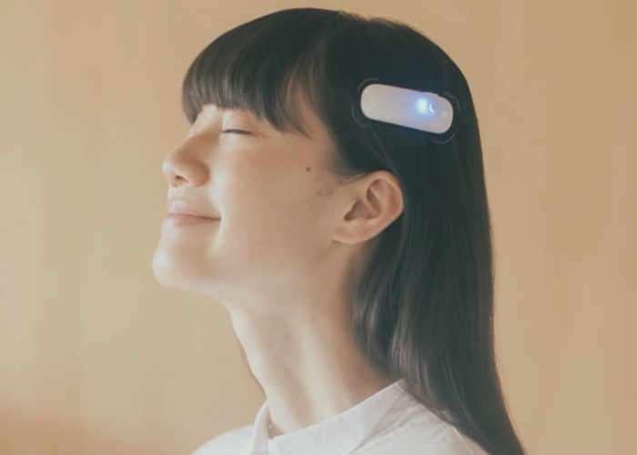 vibrating hair clip