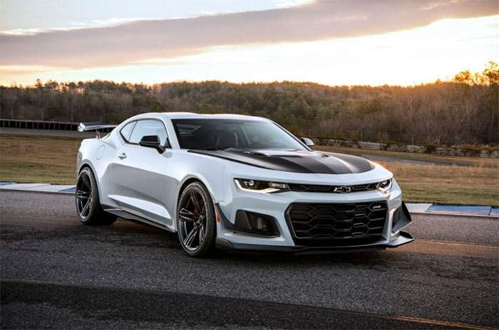 Camaro ZL1 1LE Package Adds $7500 to Base Price