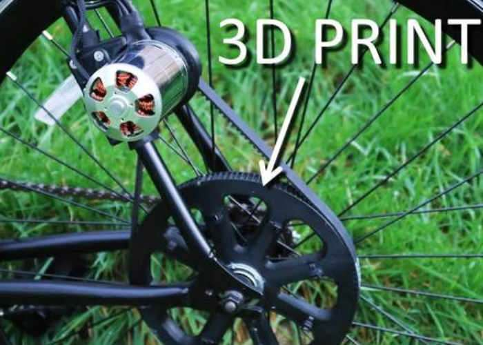 3D Printed Electric Bike