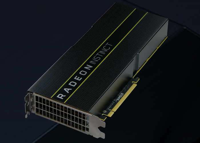 AMD Radeon Instinct MI25 Deep Learning Accelerator
