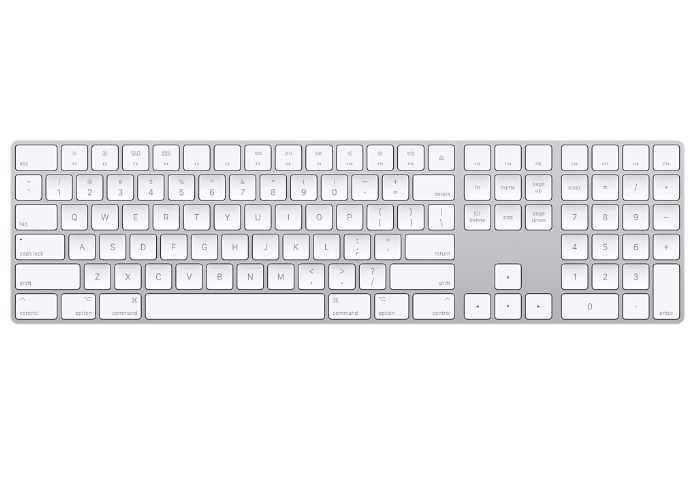 Apple Magic Keyboard With Number Pad
