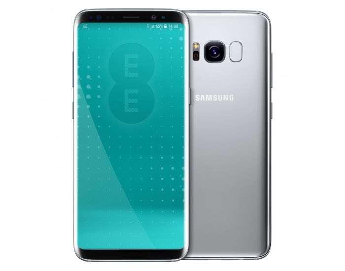 Arctic Silver Samsung Galaxy S8