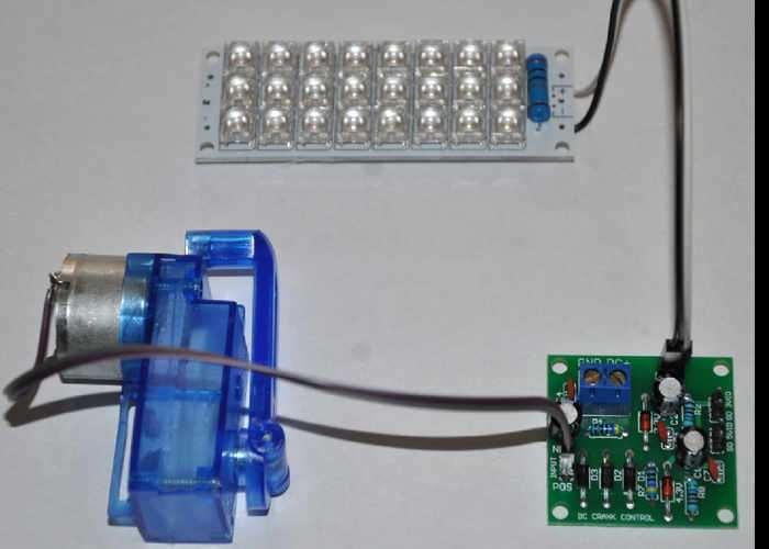 Arduino And Raspberry PI Compatible DC Crank Set