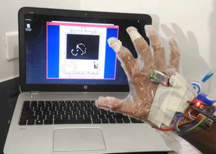 Arduino Gestures Control System