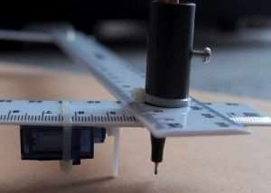 Awesome Arduino Pen Plotter Built Using A Few Rulers (video)
